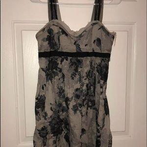 Ann Taylor Loft Camouflage Sundress Sz 4 Petite